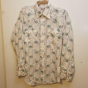 VINTAGE Montgomery Ward Western Wear Shirt